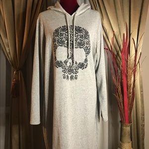 TORRID Size 2 Hooded Sweatshirt Dress